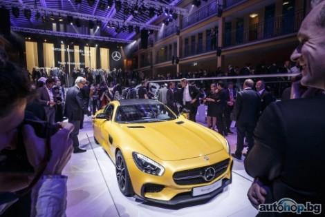 Mercedes свали покривалото на AMG GT