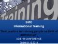 SMC България представи международното си обучение
