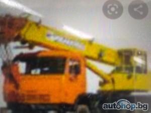 Автокран услуги за София,под наем автокран и автовишка, транспортни услуги с камион и кран