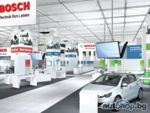 Бош представя многобройни иновации на Аутомеханика 2014