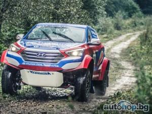 Жан-Луи Шлесер се състезава с Hyundai Santa Fe T1