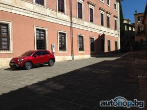 Изтече снимка на Fiat 500X