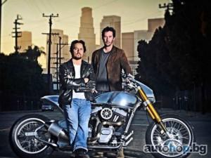 Киану Рийвс пуска своя марка мотоциклети