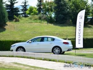 Новият Peugeot 508 стъпи у нас