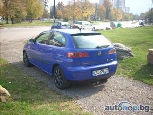 Продавам изгодно seat ibiza 1.4 sport (75 кс) 2006 г. С регистрация, нов внос Германия