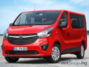 Световна премиера в Хановер: Новият Opel Vivaro Combi