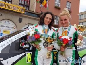 Стратиева е европейски шампион при дамите