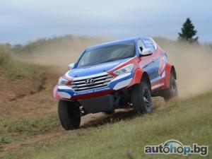 Утре дебютира състезателният Hyundai Santa Fe Т1