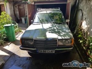 1982 Mercedes-Benz E 200 200 D