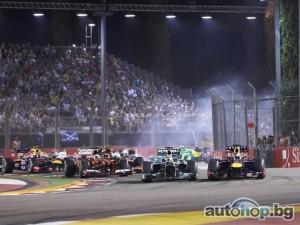 20 състезания във Формула 1 през 2015