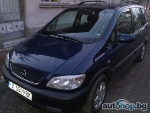 2001 Opel Zafira 1.8 16V