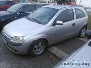 2002 Opel Corsa 1.7 Di-16V