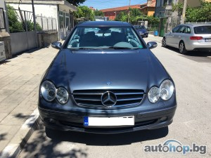 2004 Mercedes-Benz CLK 270 Avantgarde с печка