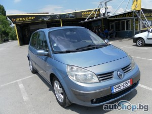 2005 Renault Scenic 1.9dci 120kc.panorama