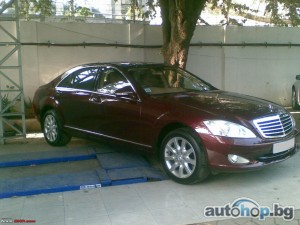 2007 Mercedes-Benz S 350 221 - S350cdi / 350i / 420cdi / 500i - 2006 / 2010 - Na chaSTI