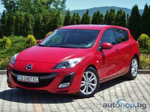 2010 Mazda 3 MZR - CD - 2.2 - SPORT LINE - FULL OPTIONS - SOUL RED PREMIUM METALLIC