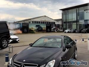 2010 Mercedes-Benz E 350 От Балкан Стар 3.0d/AMG/Coupe/7G/Каско+Обслужен