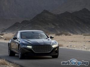 Aston Martin тества прототип на Lagonda