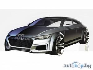 Audi показа скица на TT Sportback