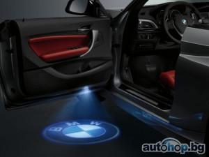 BMW с нова екстра – LED проектор във вратата