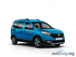 Dacia представи Lodgy Stepway и Dokker Stepway