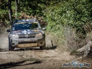 Dacia Duster завърши на 13-о място в Balkan Breslau Rallye 2014