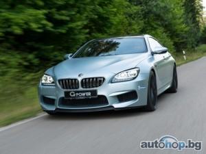 G-Power напомпа BMW M6 Gran Coupe до 740 к.с.