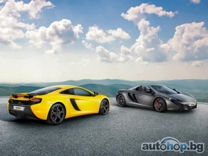 McLaren 625C ексклузивно за Азия