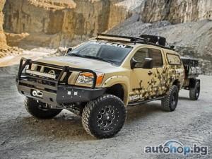 Nissan изпраща Titan в Аляска