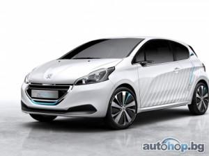 Peugeot показа автомобил, задвижван от въздух