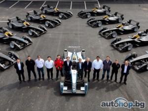 Renault на предни позиции в началото на нова ера в автомобилния спорт