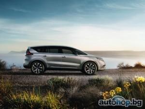 Renault Espace – първи официални снимки