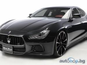 Wald превръщат Maserati Ghibli в Black Bison