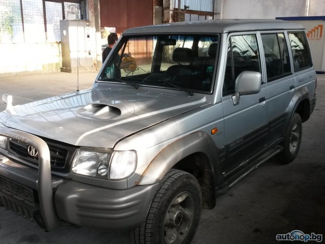 1999 Hyundai Galloper 2.5