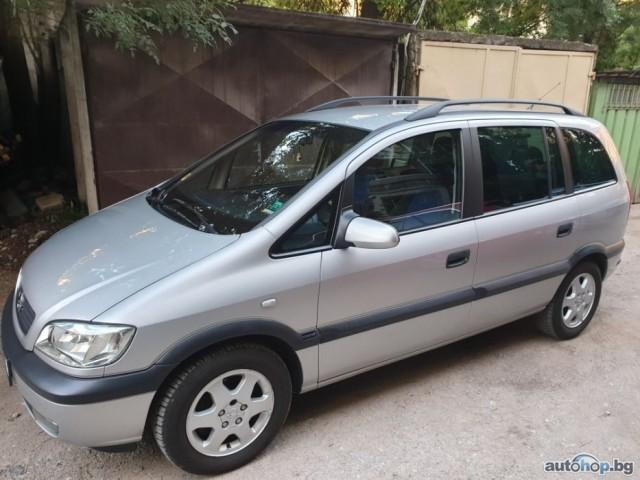 2001 Opel Zafira 1.8 Бензин