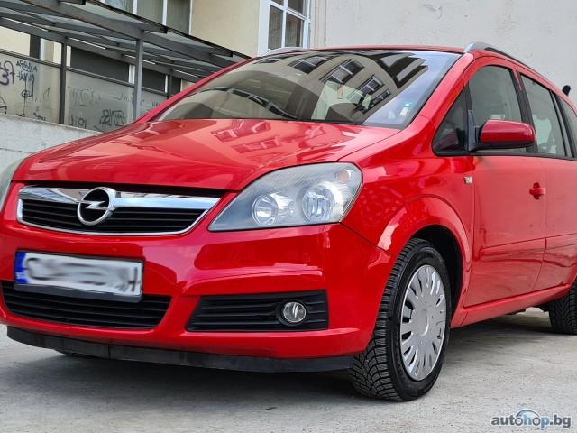 2006 Opel Zafira 1.6i, МЕТАН, 7 места, NAVI