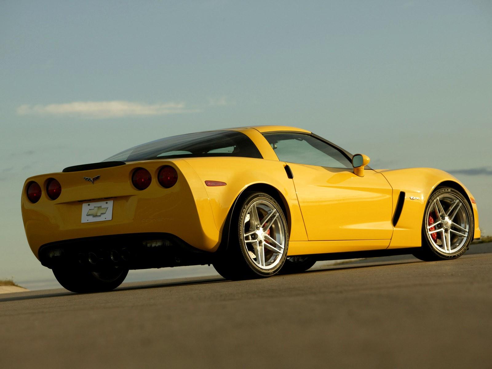 Тапет за Corvette