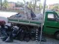 Изхвърляне и извозване на строителни отпадъци, стари мебели