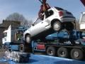 Повредени коли за скрап в София